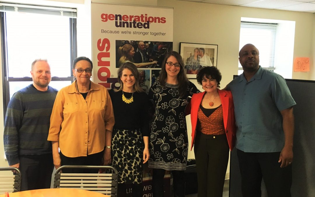 The Business of Giving Visits the Office of Generations United