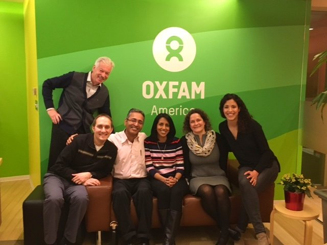 The Business of Giving Visits the Offices of Oxfam