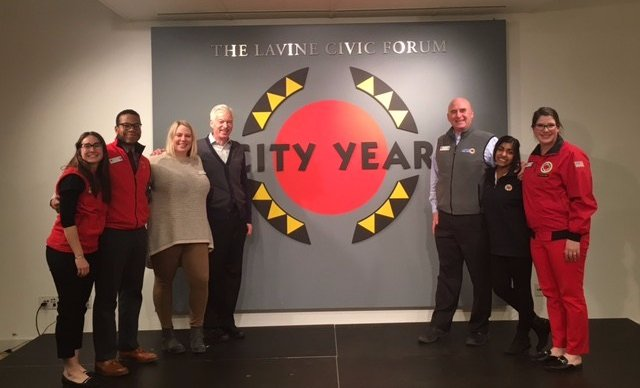 The Business of Giving Visits the Offices of City Year