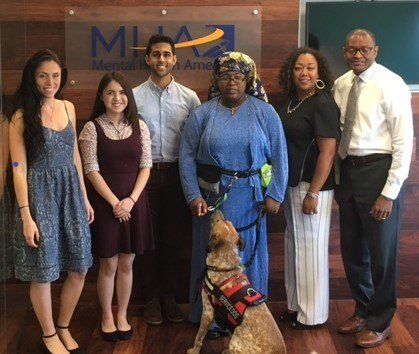 The Business of Giving Visits the Offices of Mental Health America