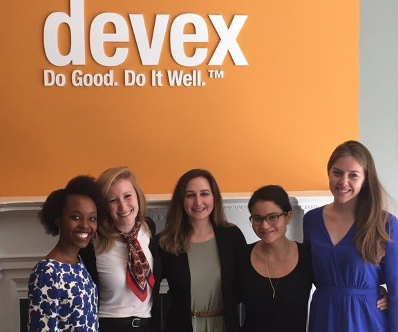 The Business of Giving Visits the Offices of Devex