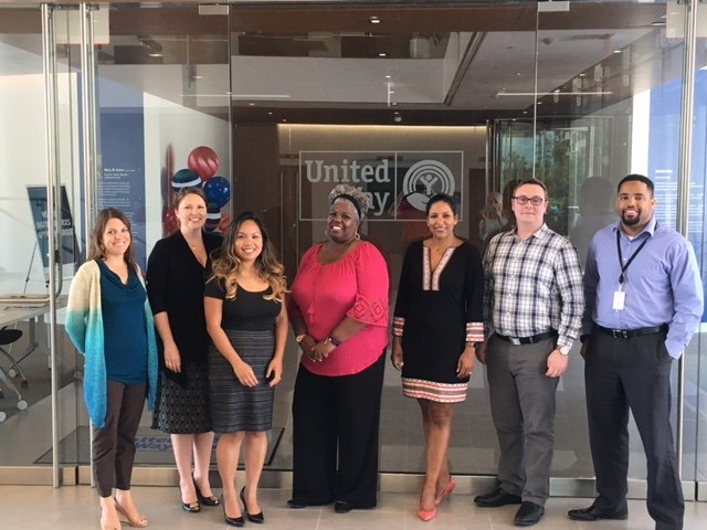 The Business of Giving Visits the Offices of United Way Worldwide