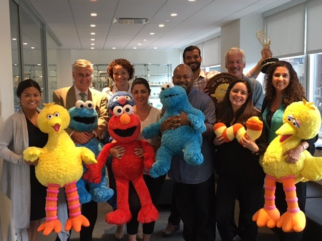 The Business of Giving Visits the Offices of Sesame Workshop