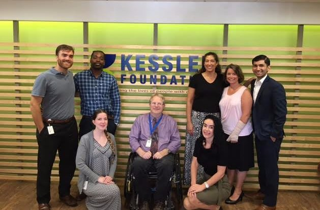 The Business of Giving Visits the Offices of Kessler Foundation