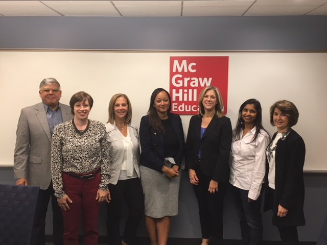 The Business of Giving Visits the Offices of McGraw-Hill Education