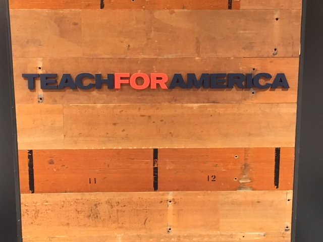 The Business of Giving Visits the Offices of Teach For America