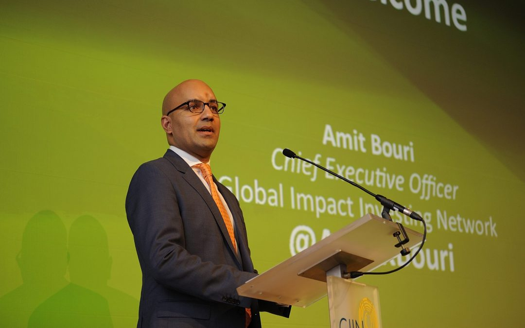 Amit Bouri, Co-founder and CEO of the Global Impact