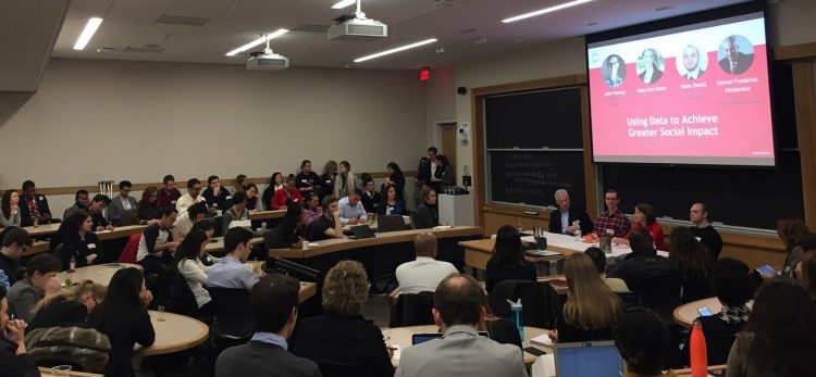 Denver Moderating at Harvard