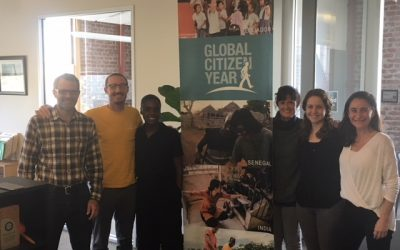 The Business of Giving Visits the Offices of Global Citizen Year