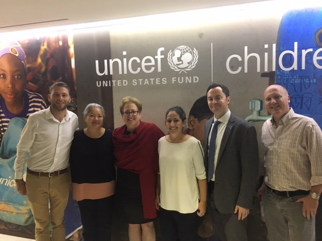 The Business of Giving Visits the Offices of UNICEF