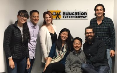The Business of Giving Visits the Offices of Education Superhighway