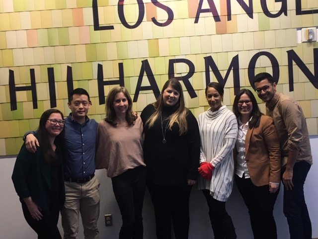 The Business of Giving Visits the Offices of LA Philharmonic