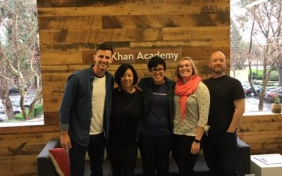 The Business of Giving Visits the Offices of Khan Academy