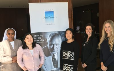 The Business of Giving Visits the Offices of the Conrad N. Hilton Foundation