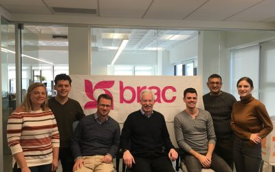 The Business of Giving Visits the Offices of BRAC