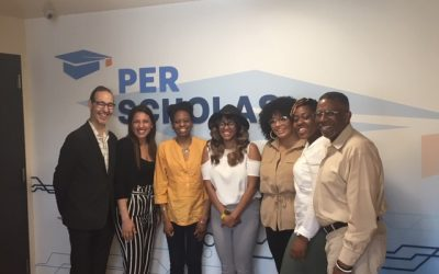The Business of Giving Visits the Offices of Per Scholas