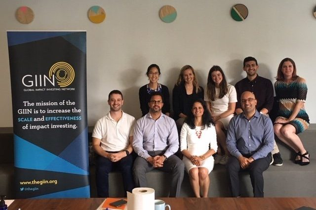 The Business of Giving Visits the Offices of the Global Impact Investing Network (The GIIN)