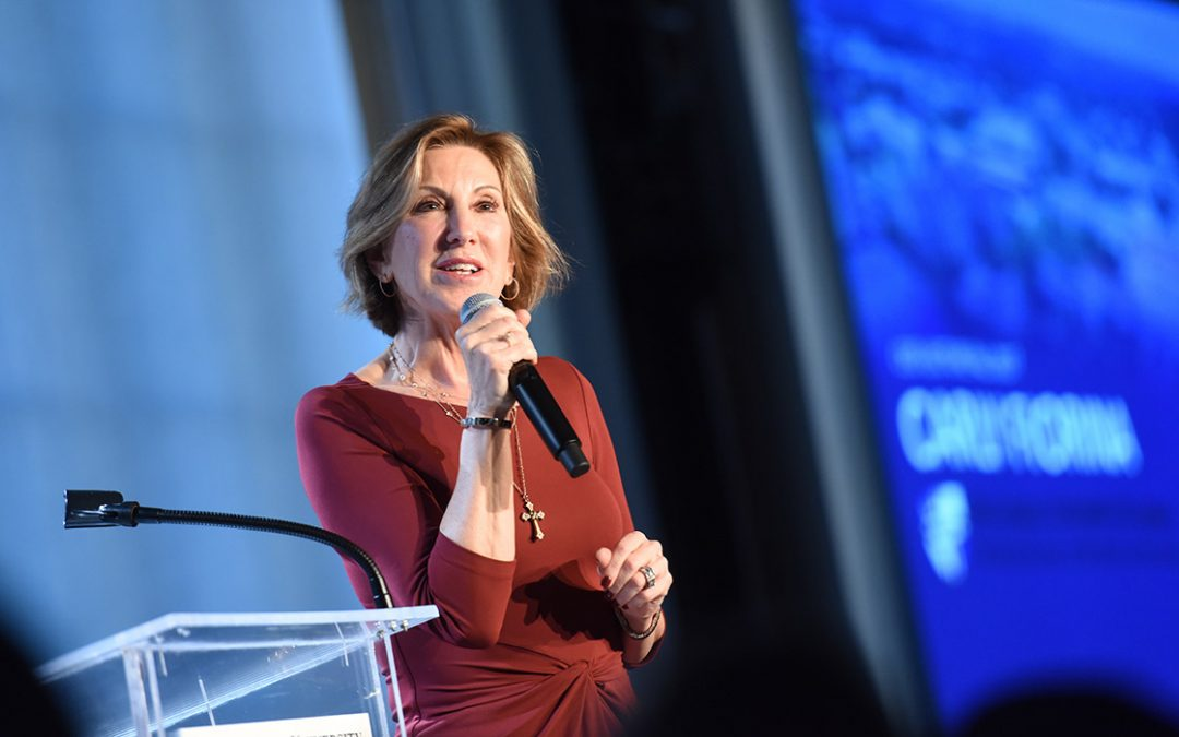 Carly Fiorina, Founder of Unlocking Potential Foundation and Author of Find Your Way: Unleash Your Power and Highest Potential, Joins Denver Frederick