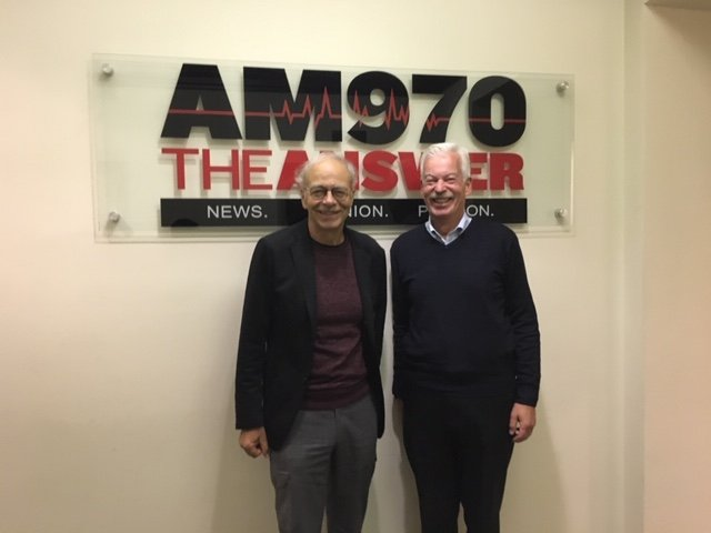 """Take Five"" with Peter Singer, Professor of Bioethics at Princeton University"