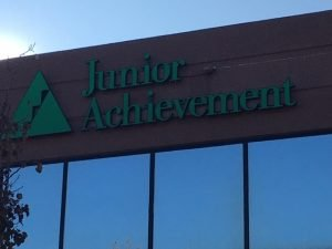 Exterior of the Junior Achievement office in Colorado Springs