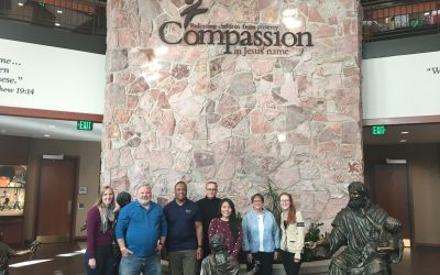 The Business of Giving Visits the Offices of Compassion International