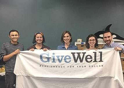 The Business of Giving Visits the Offices of GiveWell